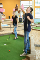 Crave Mini-golf Pigeon Forge