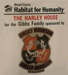 Smoky Mountain Harley Davidson Habitat For Humanity Gibbs Harley House