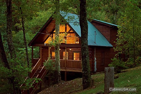 Pigeon Forge cabin rentals are very popular accommodations for Smoky Mountain visitors.