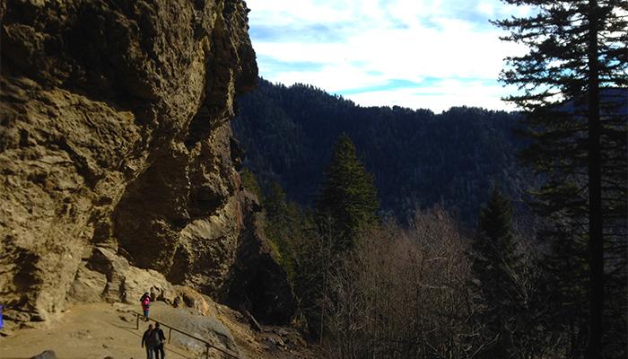 Alum Cave Bluffs on Alum Cave Trail