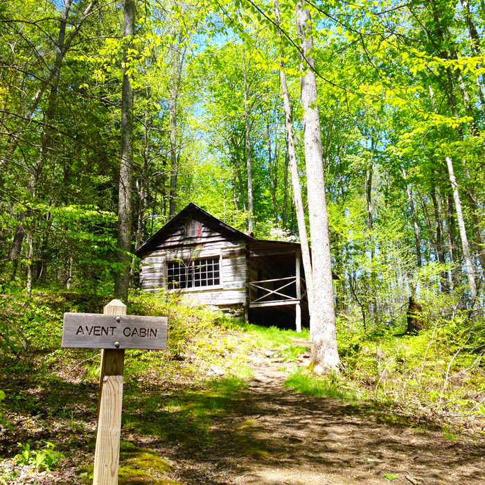 Avent Cabin in the Great Smoky Mountains National Park