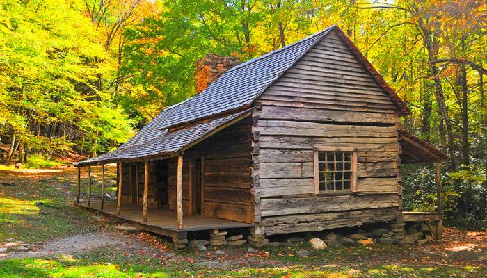 Bud Noah Ogle Cabin Roaring Fork Motor Trail