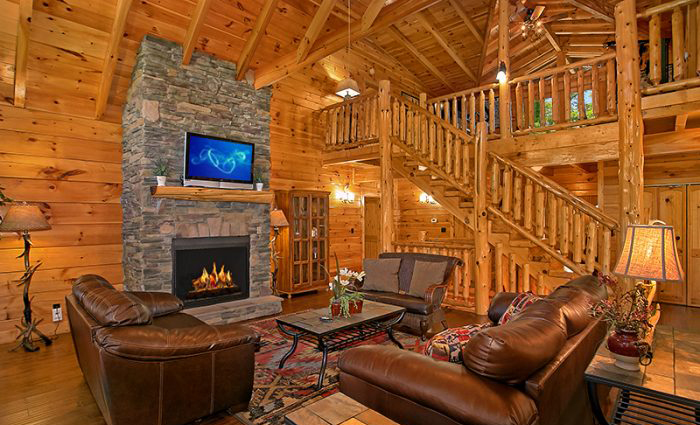 Luxury Cabin in Pigeon Forge