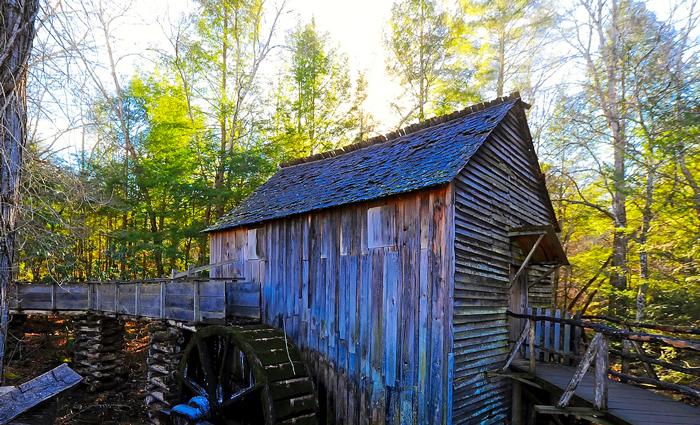 Historic Mill in Cades Cove