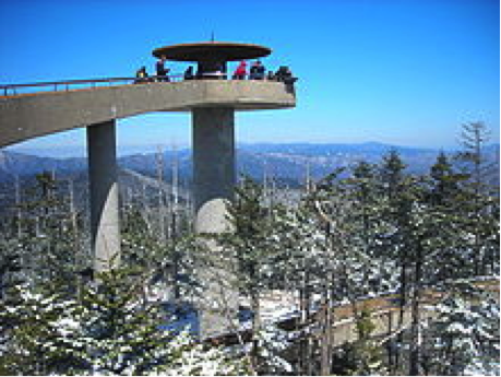 Clingmans Dome Smoky Mountains National Park