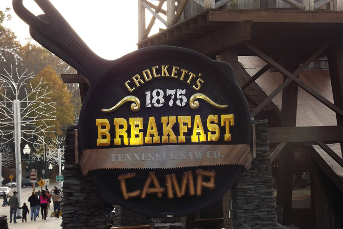 Crocketts Breakfast Camp in the Smokies
