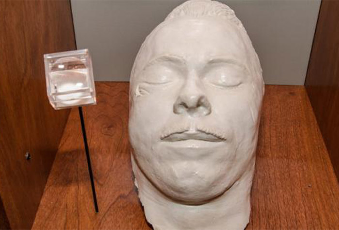 Dillinger Death Mask Pigeon Forge Prison Museum