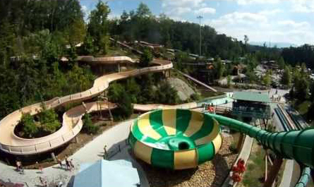 Dollywood Water Park Ride