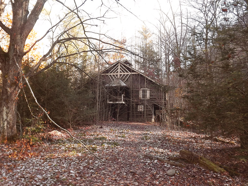 Old Lodge in Elkmont Smoky Mountains