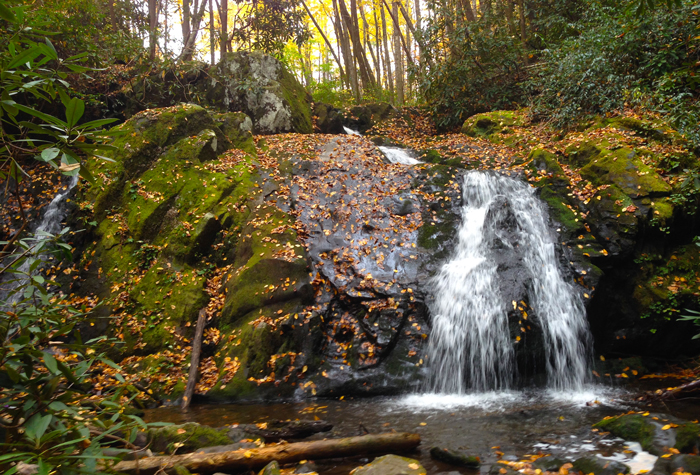 Meigs Creek Waterfall Smoky Mountains
