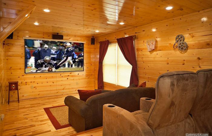 Watch football in your cabin