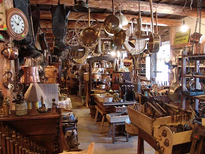 Gatlinburg Antiques Shopping