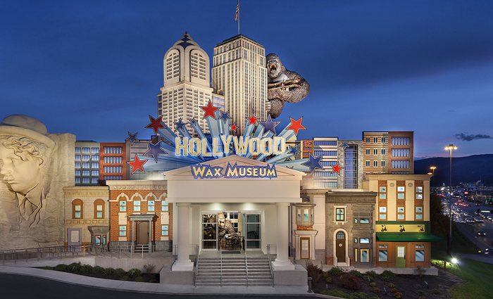 View of Hollywood Wax Museum in Pigeon Forge