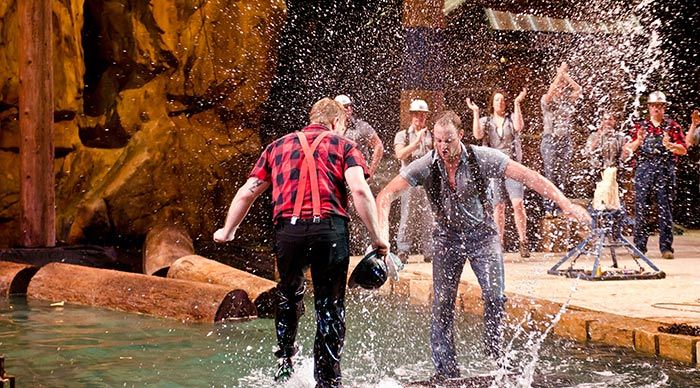 New Lumberjack Adventure Show in Pigeon Forge