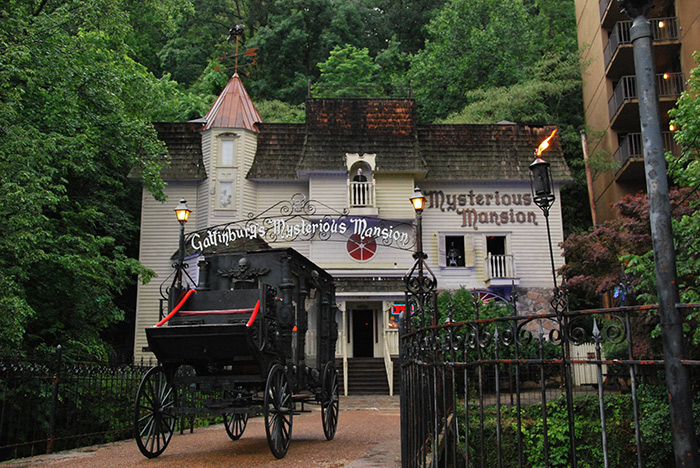Mysterious Mansion Gatlinburg Tn Haunted House