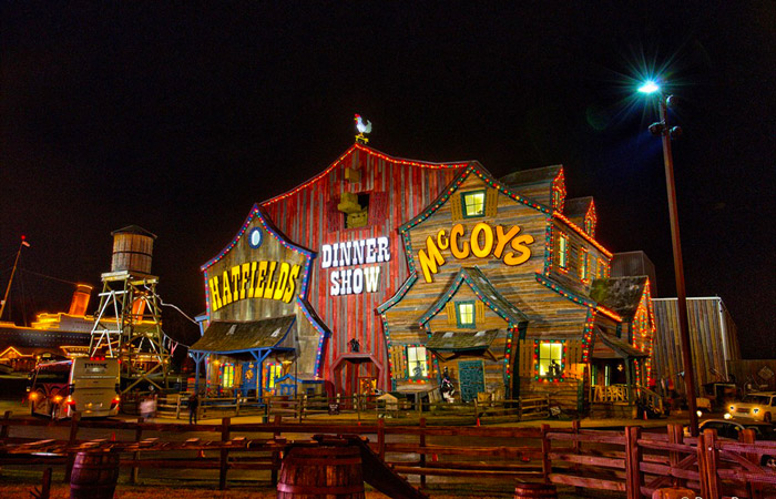 New Show Additions At Hatfield & McCoy Dinner Show