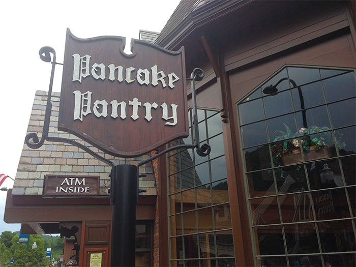 Pancake Pantry in Gatlinburg