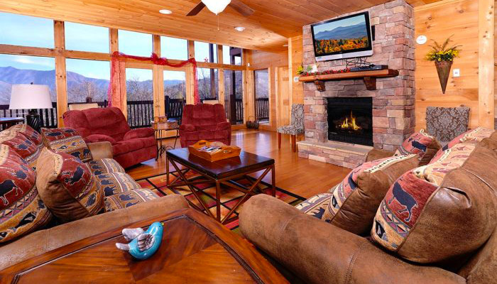 Cabin For Christmas Vacation in Pigeon Forge