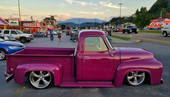 Hot Rod Truck in the Smokies
