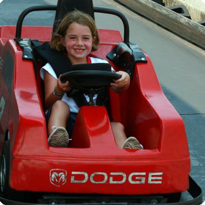 NASCAR Speedpark amusement park Sevierville Tennessee.