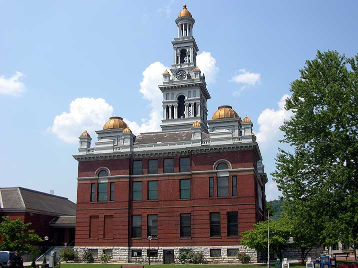 Courthouse Sevierville Tennessee.