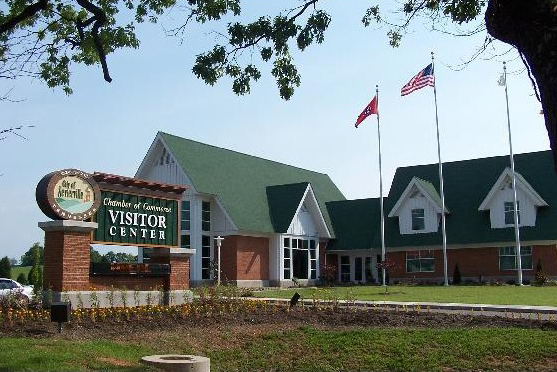 Sevierville Tennessee Welcome Center.