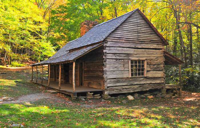 A Historic Cabin In The Smokies