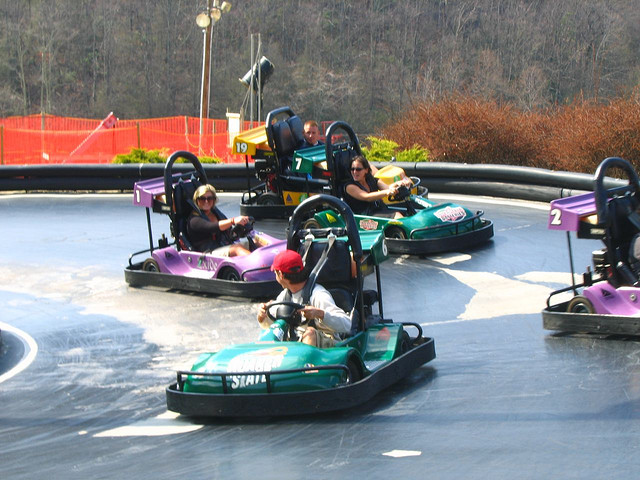 Tennessee Smoky Mountain Go Kart Tracks