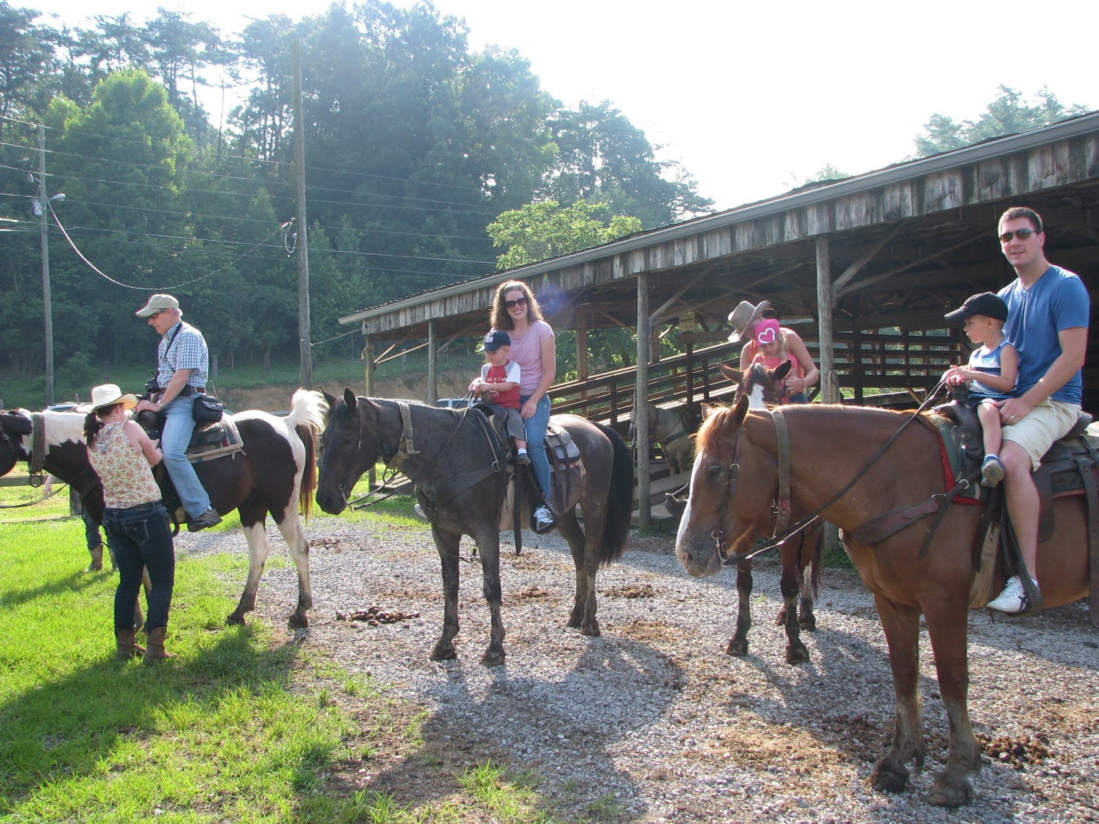 Saddle Up Pigeon Forge horse riding stables.