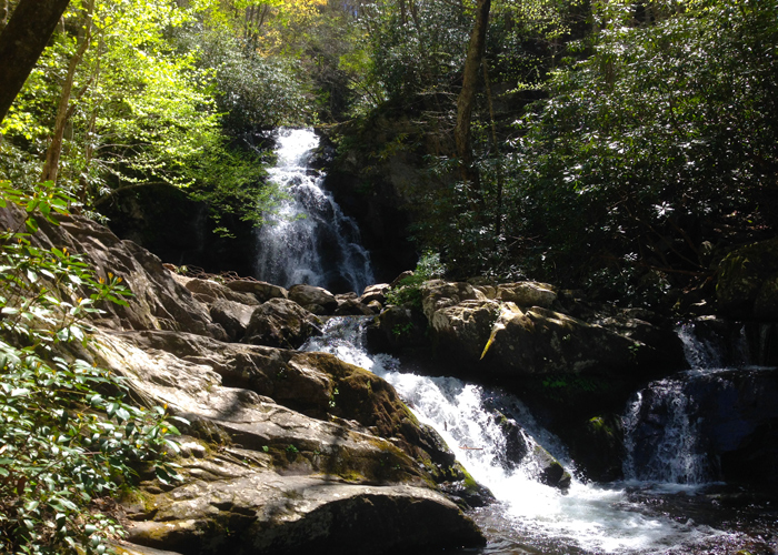 Summer Waterfall Hike in the Smokies
