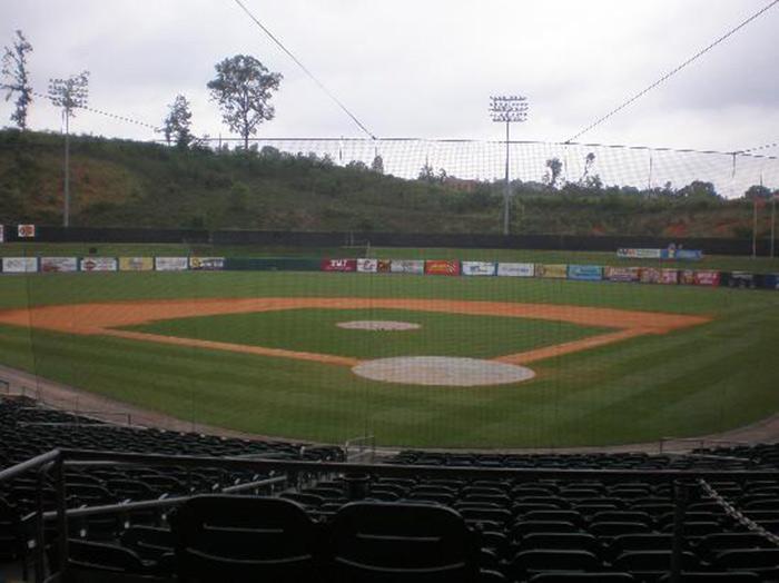 Tennessee Smokies Baseball Stadium Smoky Mountains