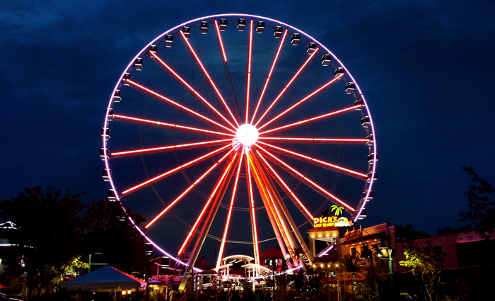 The Wheel at The Island in Pigeon Forge