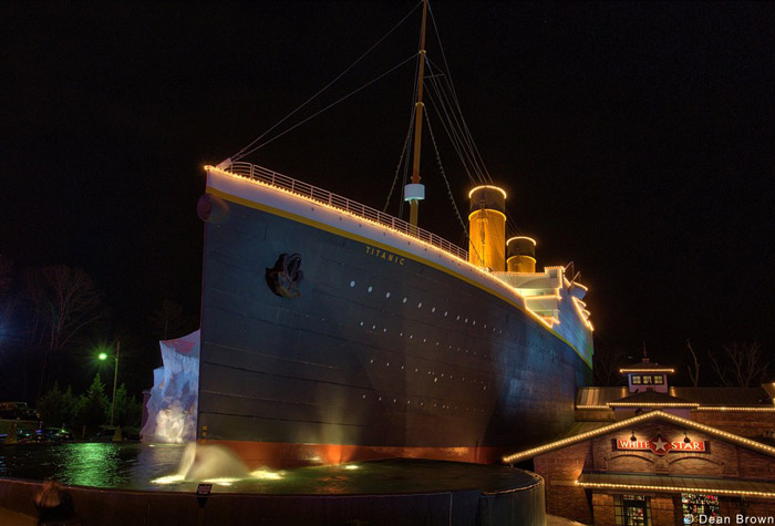 Christmas At The Titanic Museum in Pigeon Forge