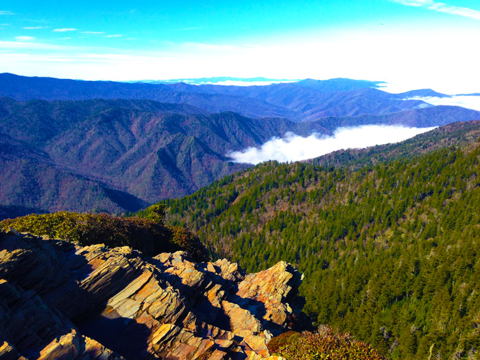 View From Cliff Tops on Mt. LeConte