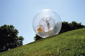 Zorbing in Pigeon Forge, TN
