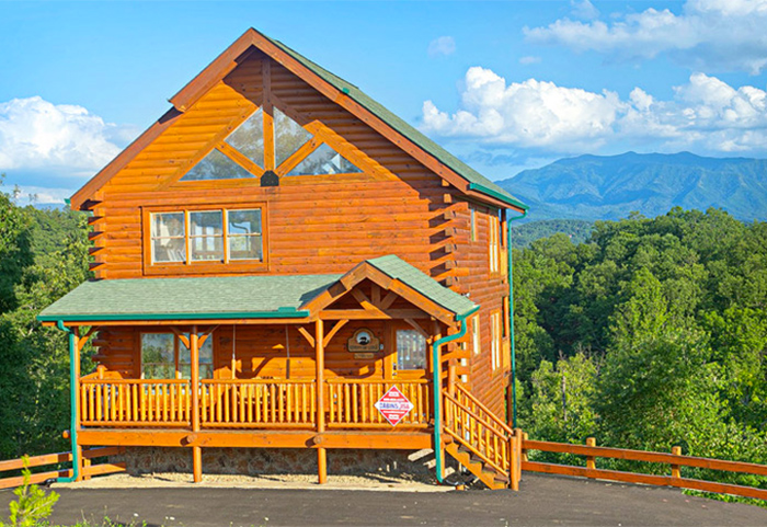 find cabins near dixie stampede in pigeon forge tn