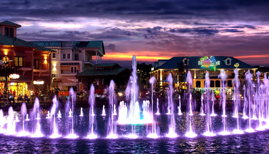 Fountain At The Island in Pigeon Forge