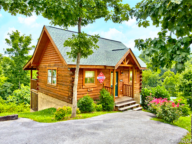 Angel Haven Cabin in Mountain Park Resort