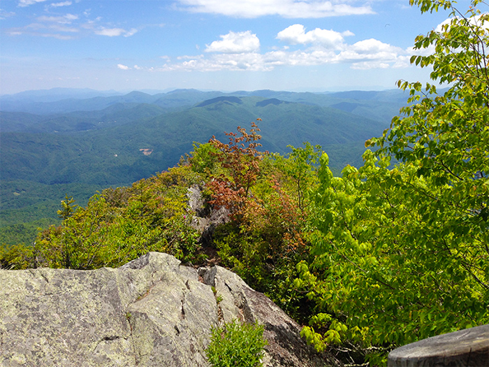 View From the Great Smoky Mountains National Park