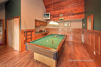 Pigeon Forge Cabins with Game Rooms