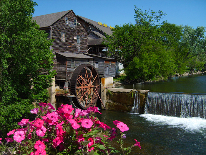 The Old Mill Site in Pigeon Forge