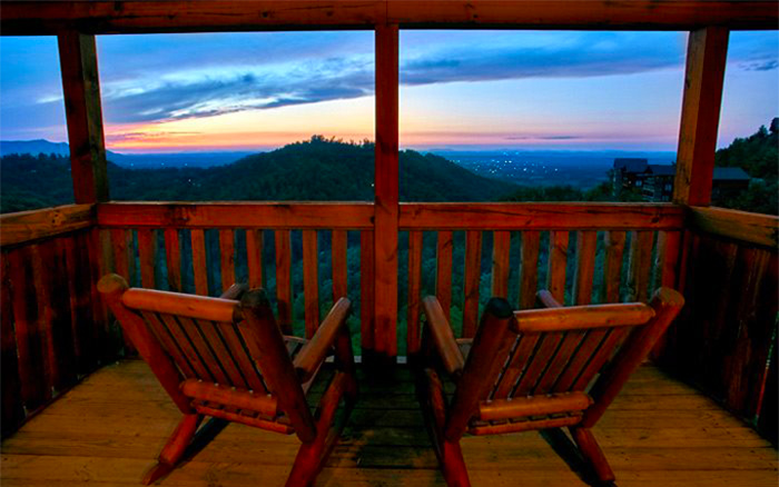 Pigeon Forge City View Cabin