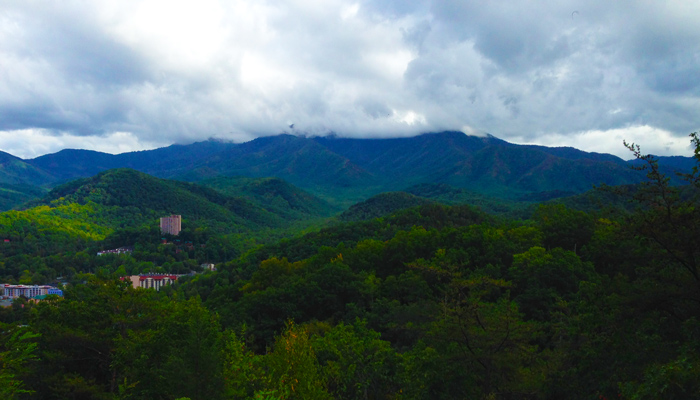 Rainy Day in the Smoky Mountains and Gatlinburg