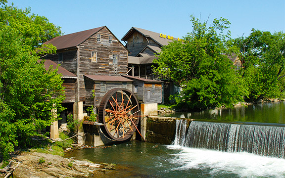 old mill a must see destination in pigeon forge