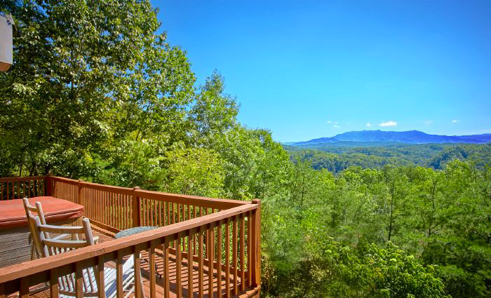 Mountain View From a Pigeon Forge Cabin