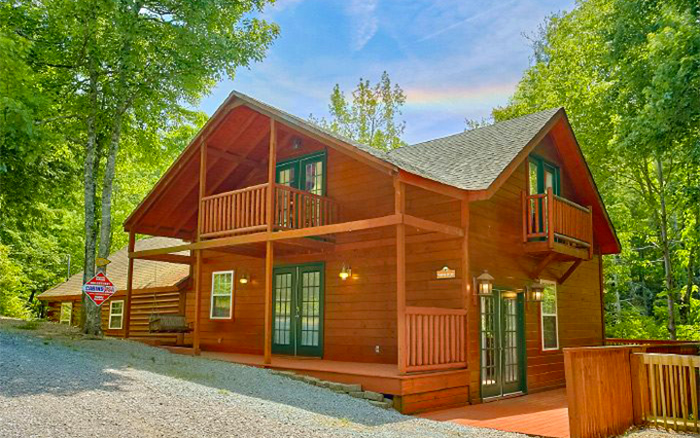 Log Cabin With Sevierville Address