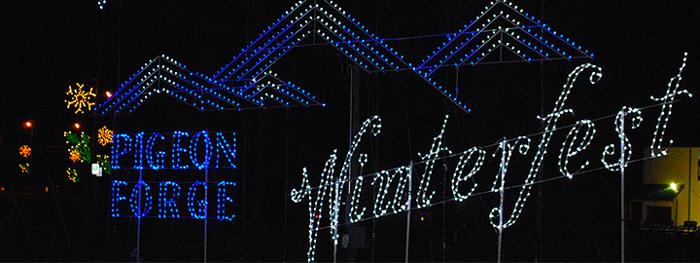 Winterfest Light Display